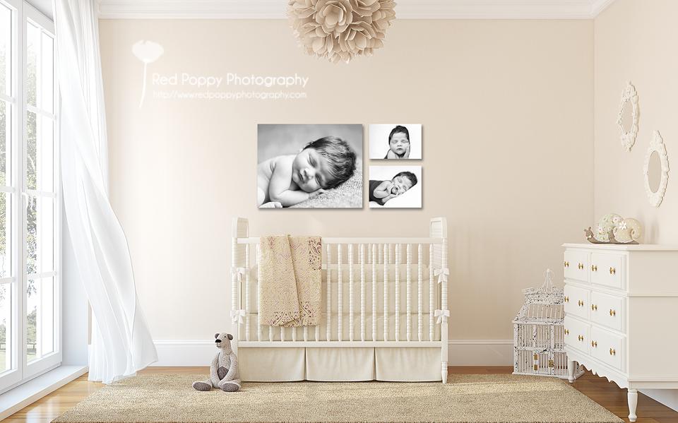 nursery triple canvas